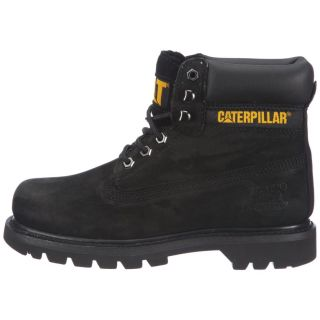 Caterpillar Cat Mens Colorado Black Leather Nubuck Boots Sizes UK 8