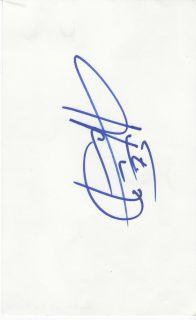 Howie Dorough Backstreet Boys Autograph UACC COA