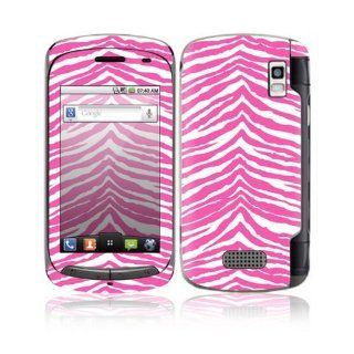 Pink Zebra Design Decorative Skin Cover Decal Sticker for
