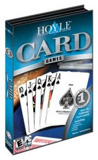 Hoyle Card Games PC Over 50 Gard Games Solitaire Bridge Rummy New