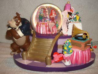 Disney Jessica Rabbit Who Framed Roger Rabbit Musical Snow Globe