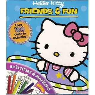 Hello Kitty Friends and Fun Color and Activity Book Sanrio