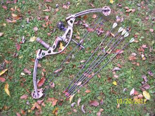 Hoyt Rintec Youth Compound Bow Loaded Excellent Cond RH Trophy Ridge