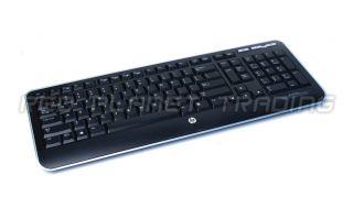 Genuine HP Atlas Wireless Slim Black English Desktop Keyboard KG 0851