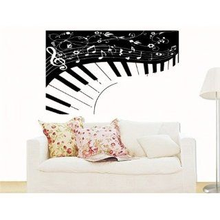 Wall MURAL Vinyl Sticker ART ABSTRACT PIANO MUSIC S.5050