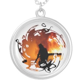 Circle of Flames Necklace