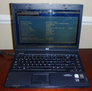 HP 6510b 14 1 Laptop 1 8GHz Core 2 Duo 1GB RAM DVD RW Lightscribe