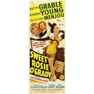 Sweet Rosie OGrady Movie Poster (14 x 36 Inches   36cm x