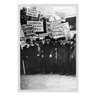 Clothing Workers Strike Wall Decal 18 x 24 in (Without