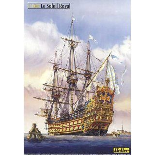 Le Soleil Royal Huge Sailing Ship 1/100 Heller Toys & Games