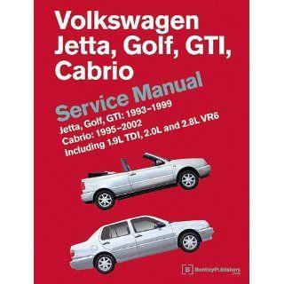 Volkswagen Jetta, Golf, GTI 1993, 1994, 1995, 1996, 1997, 1998, 1999
