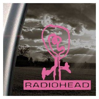RADIOHEAD Pink Decal PABLO HONEY ROCK ALBUM Car Pink