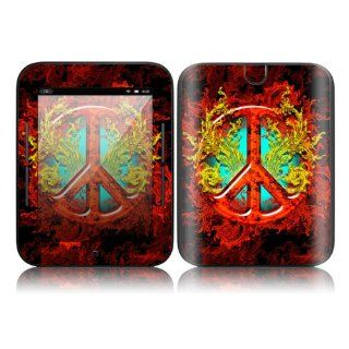 Flaming Peace Design Decorative Skin Cover Decal Sticker
