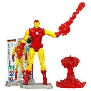 Iron Man 2 Comic Series 3.75 inch Action Figure Iron Man