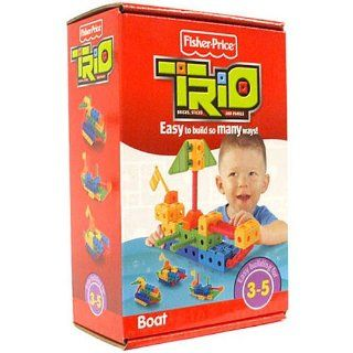 TRIO Building System Playset Boat Toys & Games
