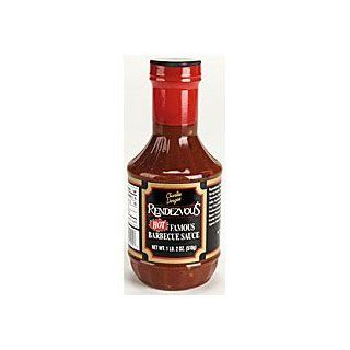 Rendezvous HOT Barbecue Sauce Grocery & Gourmet Food