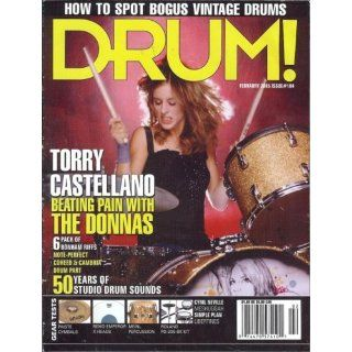 Drum Magazine (February 2005) Issue #104 (Torry Castellano Beating