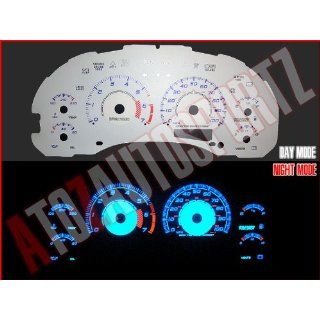 98 03 Chevy S10 Blazer MT w/7k Tach BLUE INDIGLO GAUGES