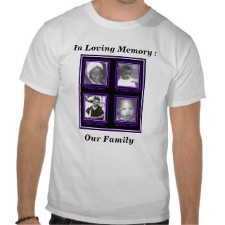 In Loving Memory, Mom & Dad Tee Shirts