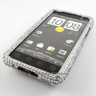 Dolphins Diamond Bling Hard Case Phone Cover HTC EVO 4G