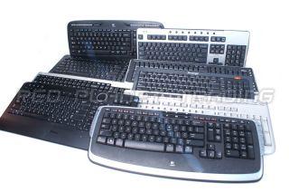 Genuine Dell Logitech Acer HP Black/ Silver English Wireless Keyboards