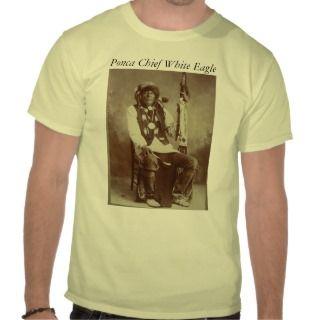 Ponca Chief White Eagle mens shirt