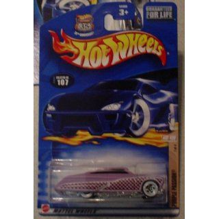 Hot Wheels 2002 107 Hot Rod Magazine PURPLE PASSION 1/4 1