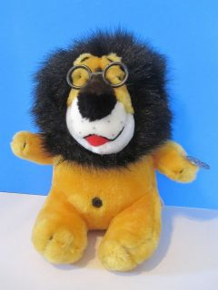 Hubert The Lion Harris Plush Coin Bank 10 Tall Save for Rainy Day