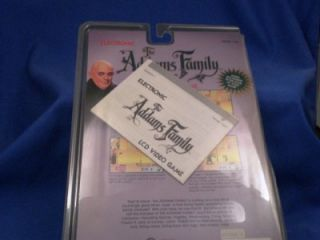 Tiger Electronics The Addams Family LCD Video Game Circa 1991
