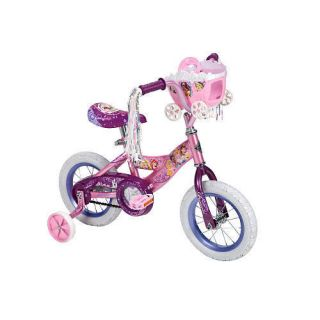 Huffy 12 inch Bike Girls Disney Princess with Carriage zTS