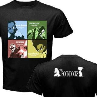 New The Boondocks Huey Animated Series T Shirt s 3XL