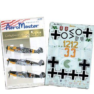 Bf 109 F Early Eastern Friedrich Aces, Pt 2 (1/32 decals