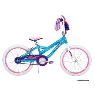 Features of Huffy 20 Inch Girls Coastal Bike (Secret Wash Ocean Blue