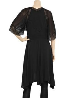 Thurley Lace detailed georgette dress