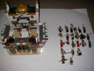 Lego HUGE lot castle alamut crusaders crown knights kingdoms horses
