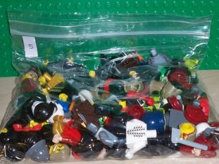 Huge LEGO Minifig Minifigure Parts Pieces Lot 100 Star Wars Castle