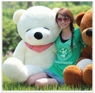 Giant 63 Big Plush Sleepy Teddy Bear Huge Soft Toy 3Color Can Be