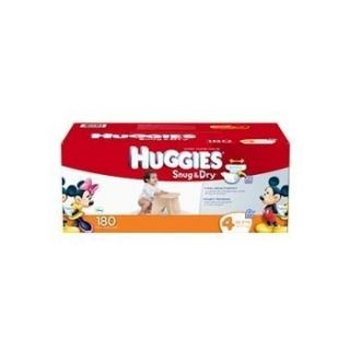 Huggies Snug Dry Diapers 135 228 Ct $60 for All Sizes Count Free