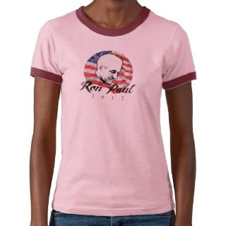 Ron Paul 2012 Sketch Design T shirts