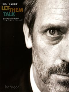 Hugh Laurie Let Them Talk Piano Vocal Guitar PVG Sheet Music Book