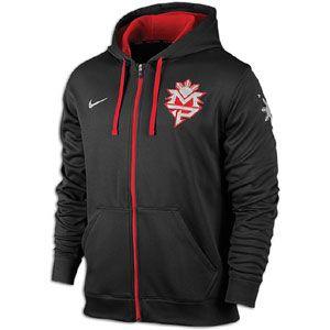 Nike Pac Man Ko FZ Hoodie   Mens   Training   Clothing   Black/Gym