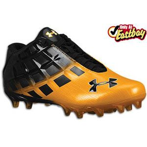 Under Armour Mercenary 5/8 MC   Mens   Football   Shoes   Black/Gold