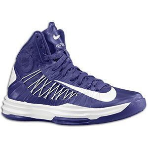 Nike Hyperdunk   Womens   Basketball   Shoes   Court Purple/White
