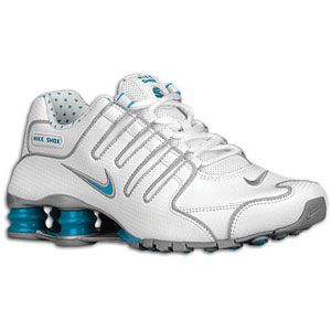 Nike Shox NZ EU   Womens   Running   Shoes   White/Metallic Silver