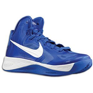 Nike Hyperfuse   Womens   Basketball   Shoes   Game Royal/White