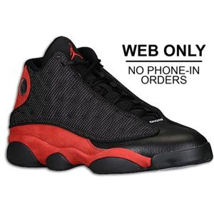 Jordan Retro 13   Mens   Basketball   Shoes   Black/Varsity Red/White