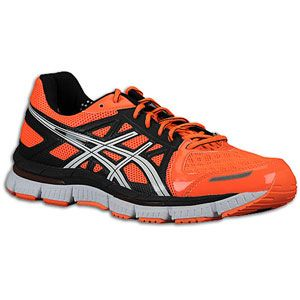 ASICS® Gel   Neo33   Mens   Running   Shoes   Bright Orange/White
