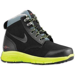 Nike ACG Dual Fusion Jack Boot   Boys Preschool   Black/Volt/Hasta