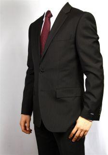 Hugo Boss Black Pin Stripe Slim Fit Suit Model The Grand Central 36S
