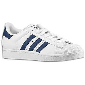 adidas Originals Superstar 2   Mens   Basketball   Shoes   White/Navy